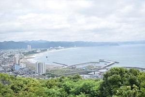 魚見塚展望台